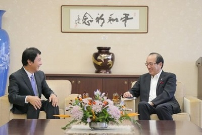 Visit of Consul General Izawa to Hiroshima City and Kyoto Prefecture (September 19 and 20, 2018)